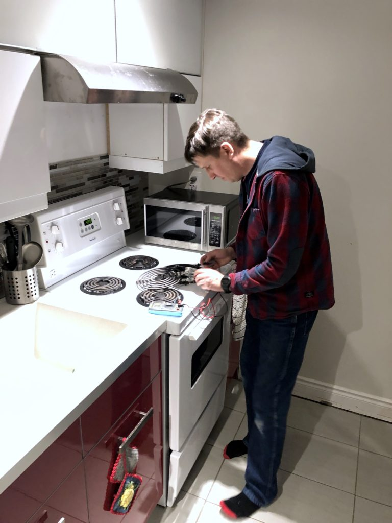 electric stove maydone appliance repair installation services gta toronto