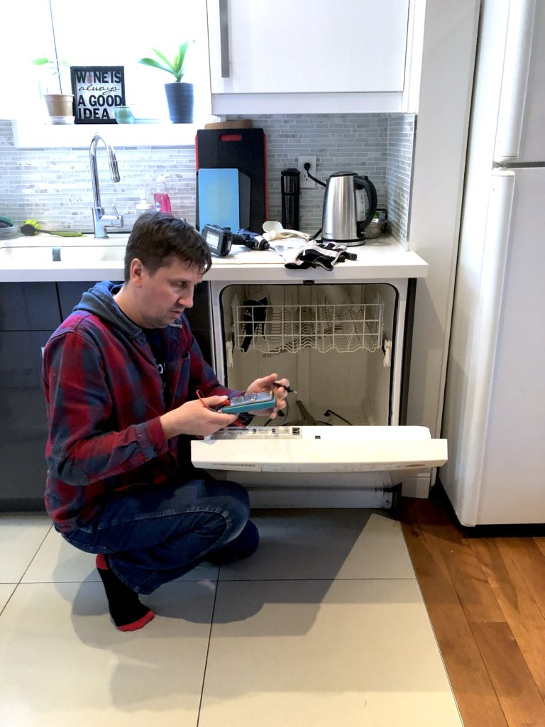 broken dishwasher maydone appliance repair installation services gta toronto