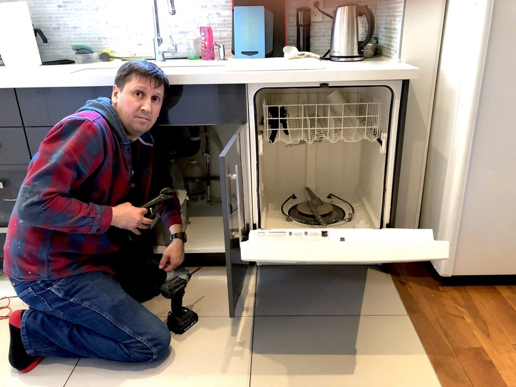 install dishwasher maydone gta toronto appliance repair and installation