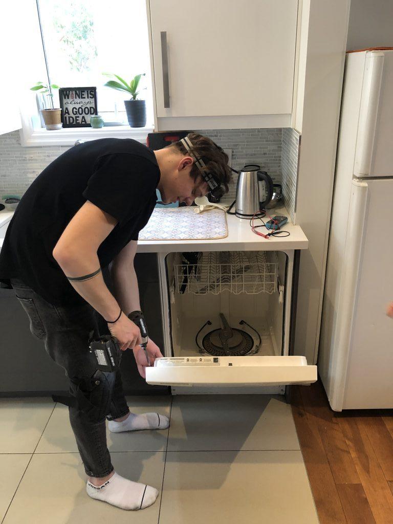 dishwasher maydone appliance repair installation services gta toronto