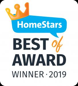 Homestars 2019 award